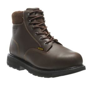 Wolverine steel toe leather work boots 🥾